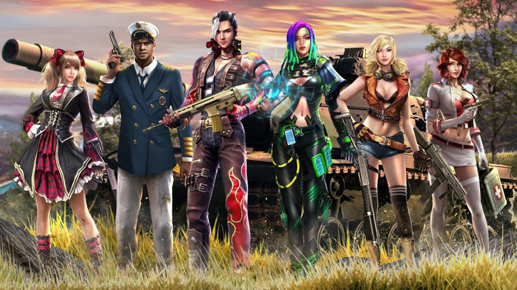 5 unique free fire character bundles in 2021